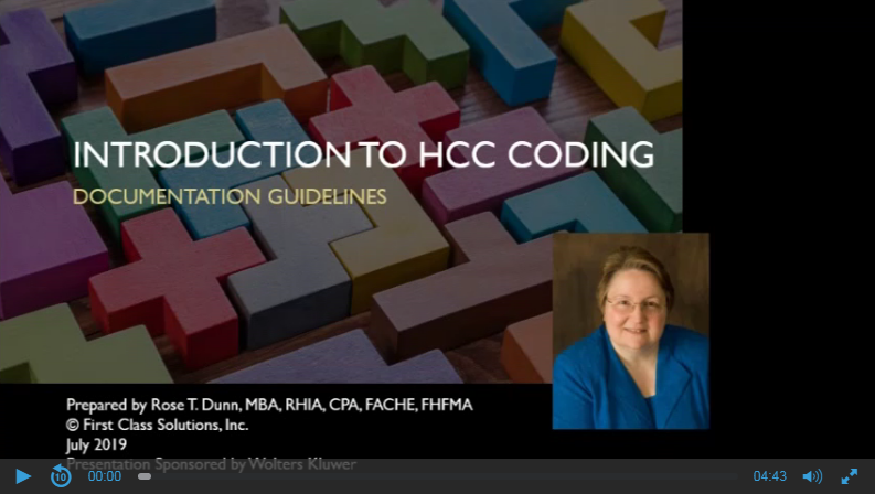 Intro to HCC Coding: Documentation Guidelines