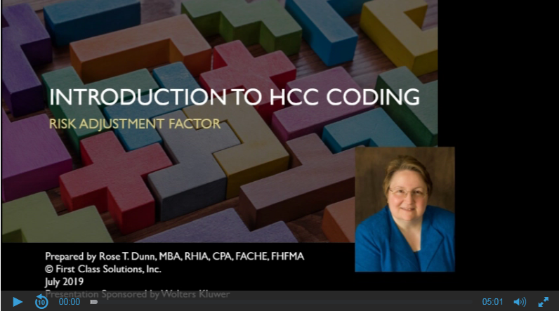 Intro to HCC Coding: Risk Adjustment Factor