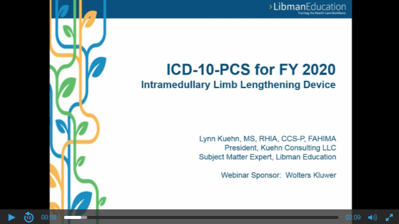 ICD-10-PCS for FY 2020: Intramedullary Limb Lengthening Device