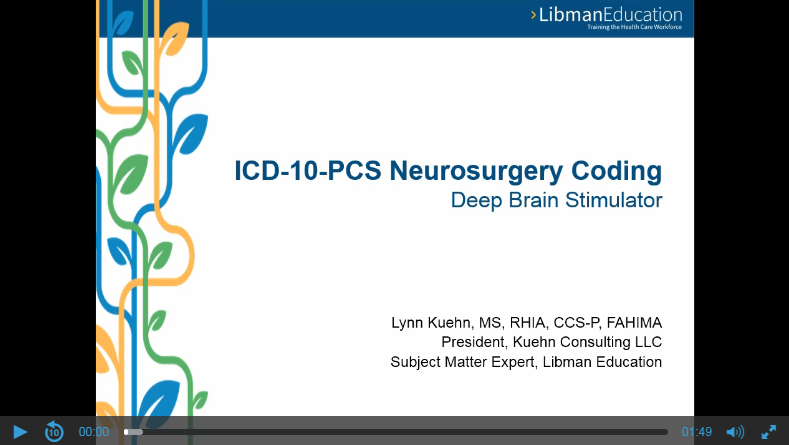 ICD-10-PCS Neurosurgery Coding: Deep Brain Stimulator