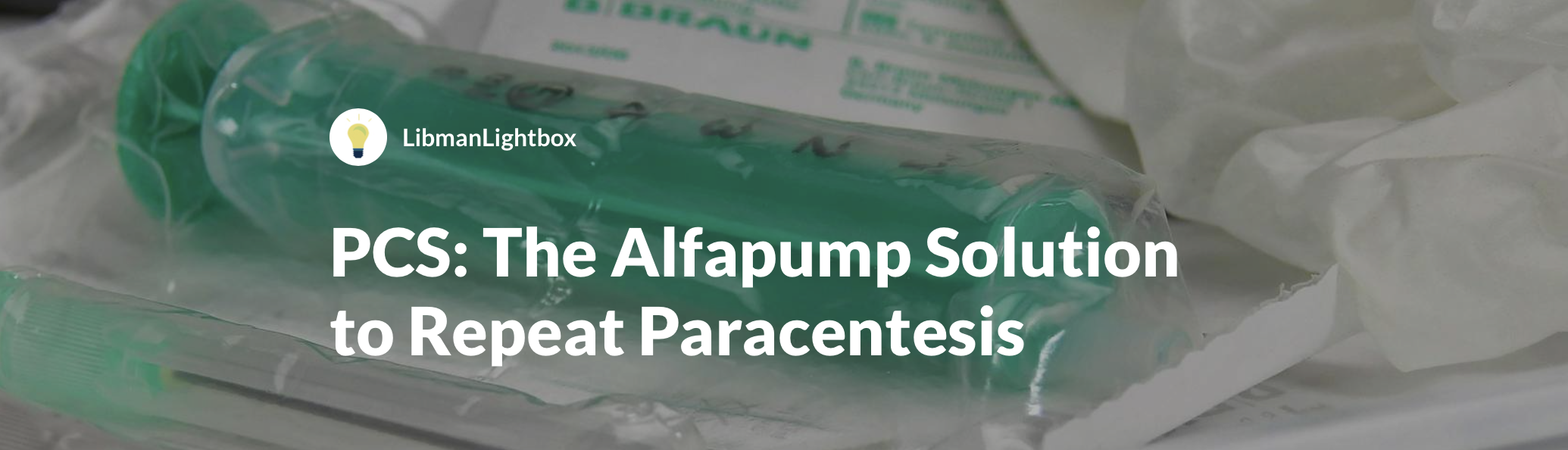 ICD-10-PCS: The Alfapump Solution to Repeat Paracentesis